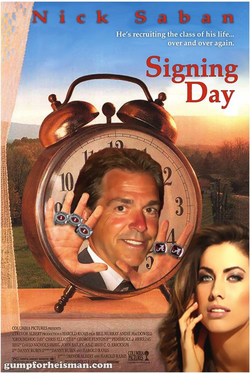 Nick Saban Signing Day